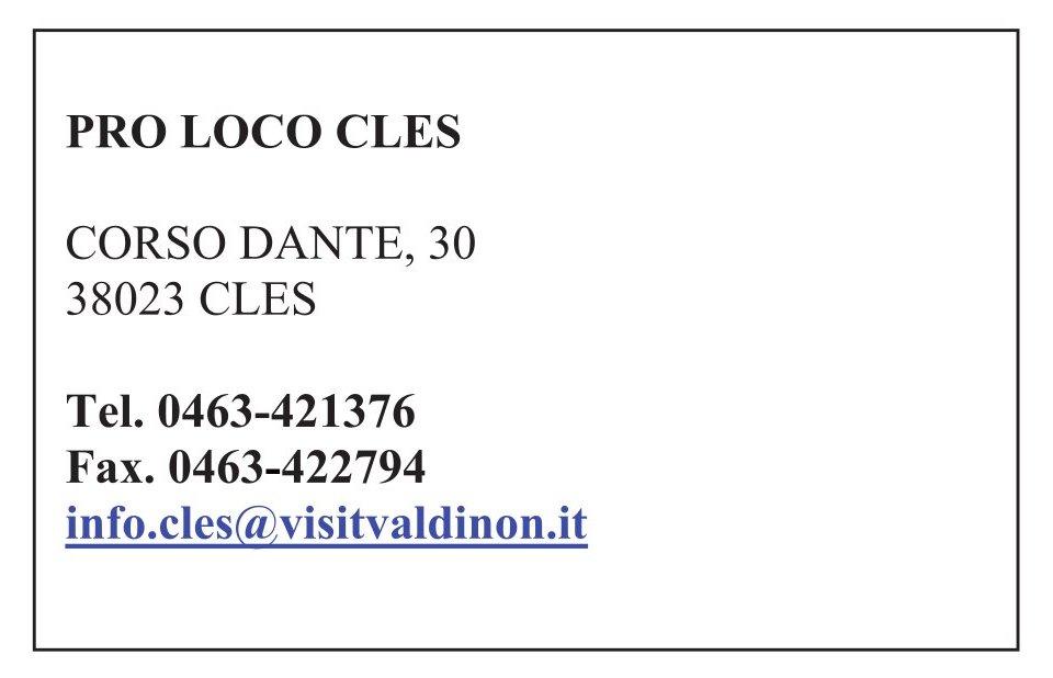 Proloco Cles