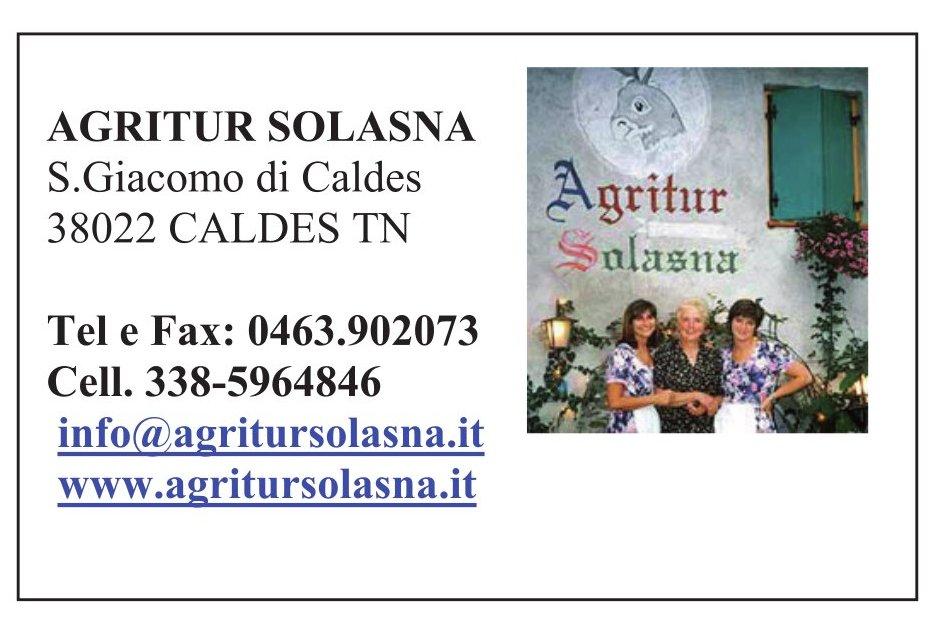 Agritur Solasna